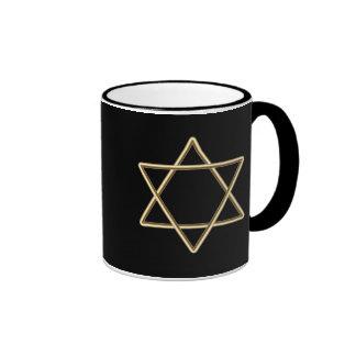 Star of David for Bar Mitzvah or Bat Mitzvah Coffee Mug