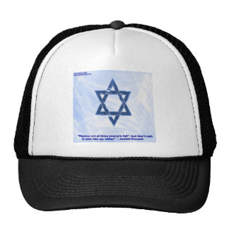 Star Of David & Funny Jewish Proverb Gifts & Cards Cap