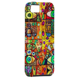 Star Of David Hamsa Vintage Tapastry iPhone 5 Case