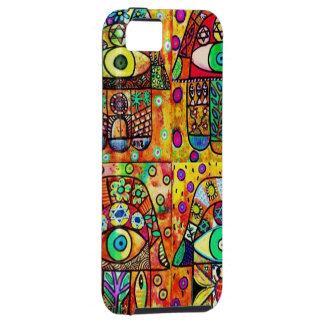 Star Of David Hamsa Vintage Tapastry iPhone 5 Case