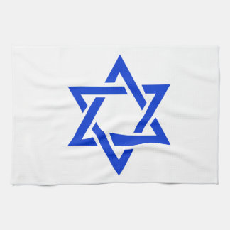 Star of David Hand Towels