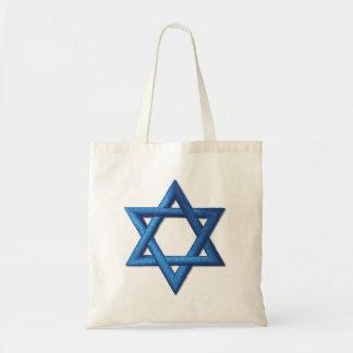 Star of David Israeli Jewish Tote Bag