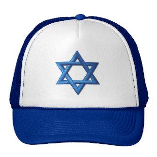Star of David Jewish Cap