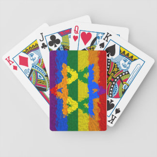 Star of David - Jewish - Gay Pride Bicycle Playing Cards