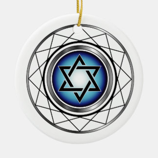 Star of David- Jewish religious symbol Christmas Ornament