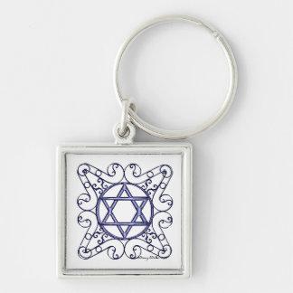 Star of David Key Chain