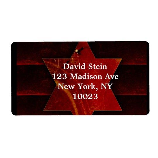 Star of David  labels