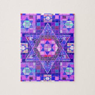 Star of David mosaic Puzzles