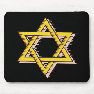 Star Of David Mouse Pads