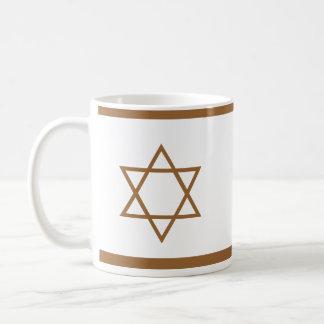Star of David Basic White Mug