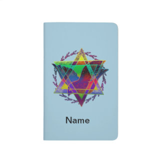 Star Of David Multicolor Journals