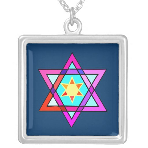 Star Of David Necklaces
