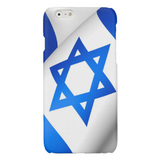 Star of David on a Flag iPhone 6 Plus Case