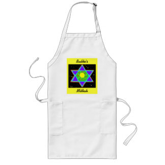 Star of David Paint Long Apron