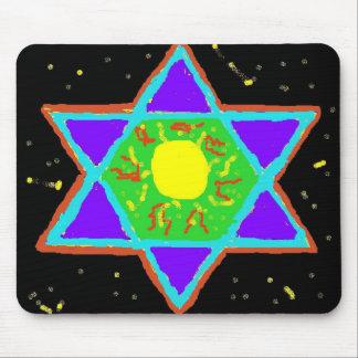 Star of David Paint Mousepads