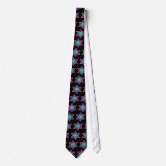 Star of David Paint Tie