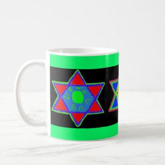 Star of David Paint Trio Mug