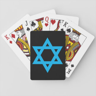 """STAR OF DAVID"" PLAYING CARDS"