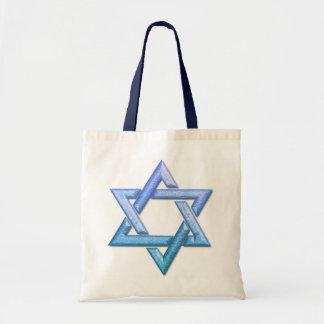 Star of David Small Tote Bag