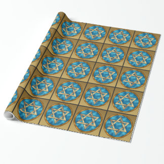 Star of David - SRF Wrapping Paper