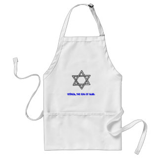 Star of David - Yeshua, The Son of David Standard Apron