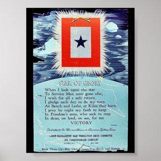 Star Of Glory Victory Print