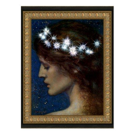 Star of Heaven by- Edward Robert Hughes Postcards