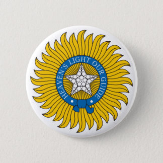 Star of India 6 Cm Round Badge