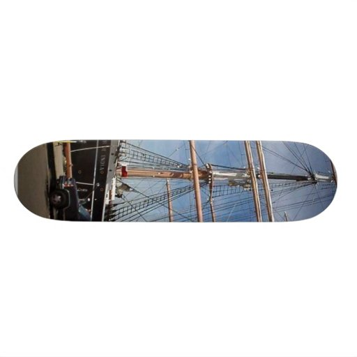 Star Of India At The San Diego Maritime Museum Skate Board