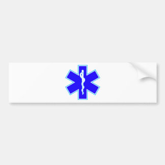 Star of Life (ambulance) Bumper Sticker