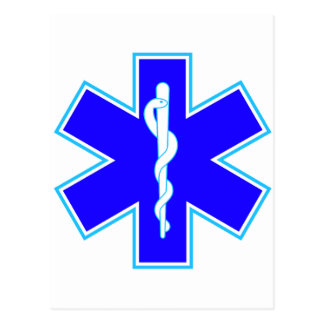 Star of Life (ambulance) Postcard