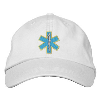Star Of Life Embroidered Hat