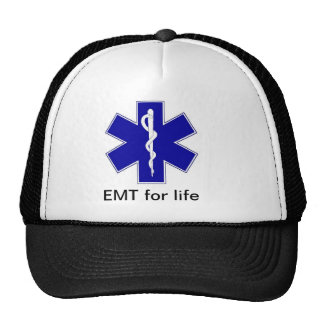 star_of_life, EMT for life Cap