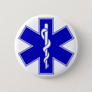 Star of Life Medic Pin