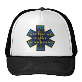 Star of Life - Medical First Responder Cap