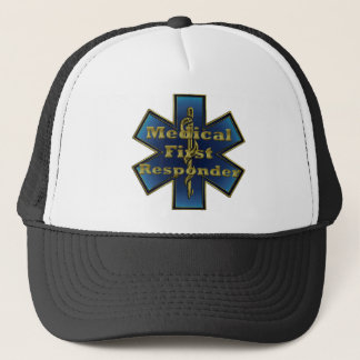 Star of Life - Medical First Responder Trucker Hat