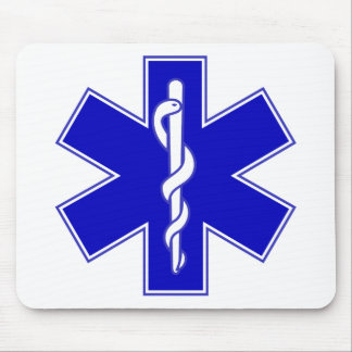 Star of Life Mouse Mat