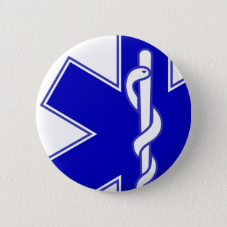 Star of Life Offset Medic Pin