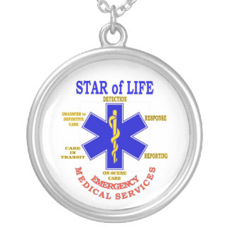 STAR of LIFE Silver Plated Necklace