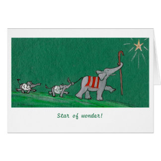 Star of Wonder! Greeting Cards