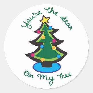 Star On My Tree Sticker