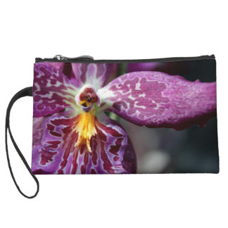 Star Orchid Mini Clutch Wristlet Purse