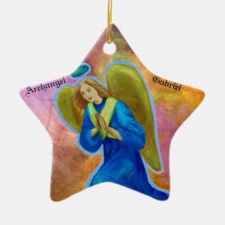 Star Ornament: Archangel Gabriel Christmas Ornament