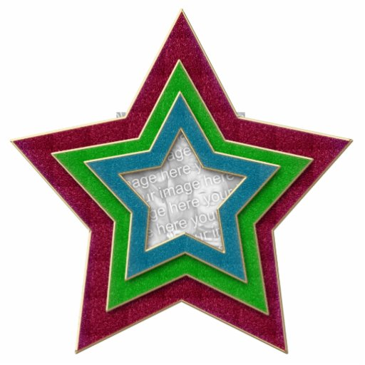 Large Star Cut Out