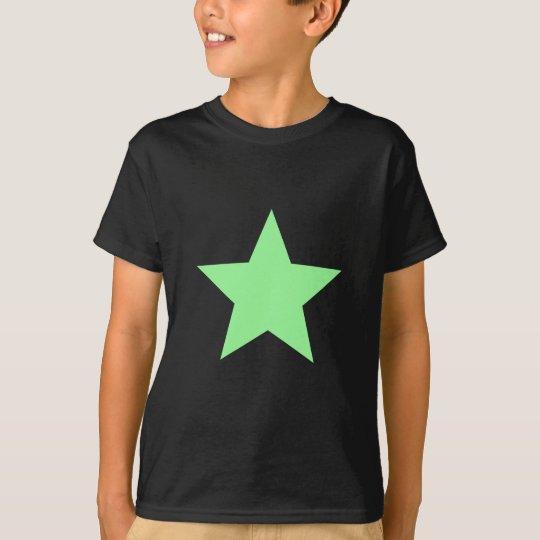 Star PaleGreen T-Shirt
