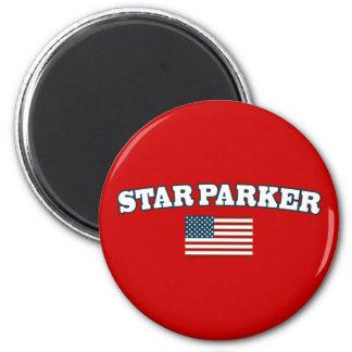 Star Parker for America 6 Cm Round Magnet