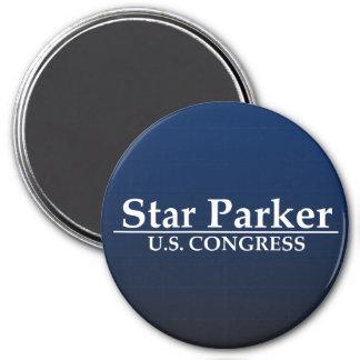 Star Parker for U.S. Congress 7.5 Cm Round Magnet