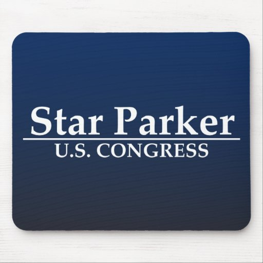 Star Parker for U.S. Congress Mouse Pads