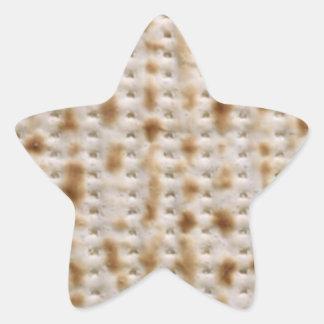 Star Passover Matzoh Stickers