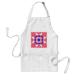 Star Patch Red White & Blue Apron